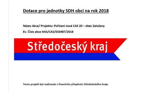 Dotace JSDH
